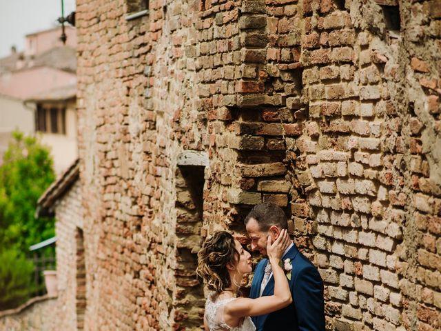 Il matrimonio di Enrico e Sara a Certaldo, Firenze 60