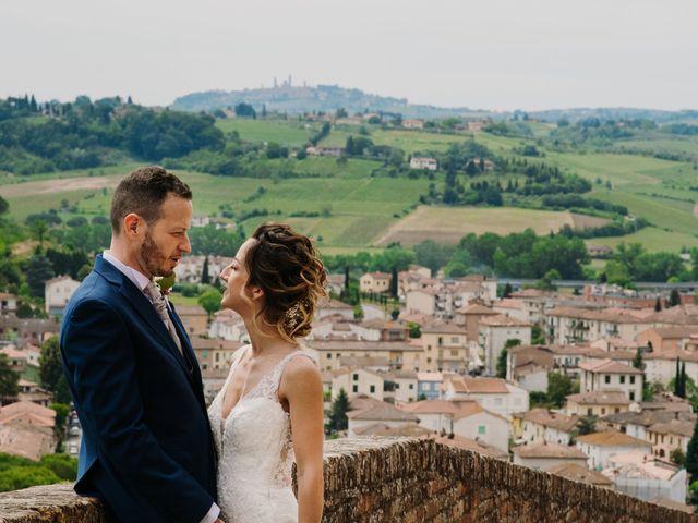 Il matrimonio di Enrico e Sara a Certaldo, Firenze 61