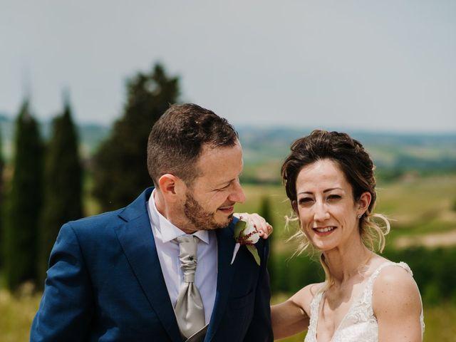 Il matrimonio di Enrico e Sara a Certaldo, Firenze 63