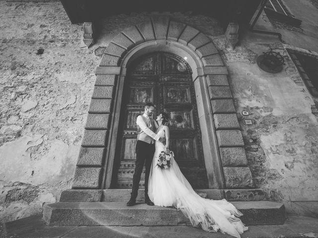 Il matrimonio di Enrico e Sara a Certaldo, Firenze 2