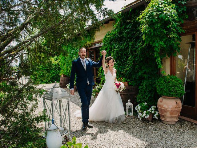 Il matrimonio di Enrico e Sara a Certaldo, Firenze 67