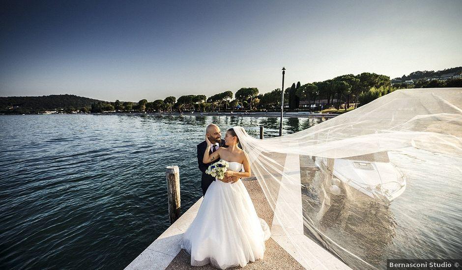 Il matrimonio di Stefano e Marica a Padenghe sul Garda, Brescia