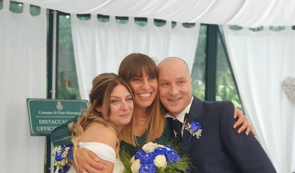Il matrimonio di Bijan e Sarah a Fino Mornasco, Como