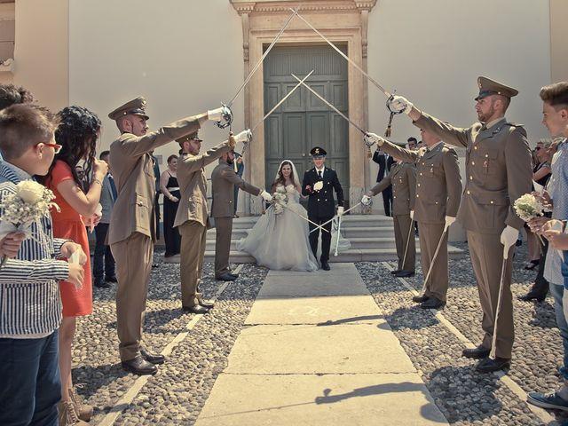 Il matrimonio di Antonino e Marianna a Volta Mantovana, Mantova 131