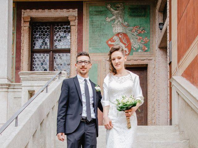 Il matrimonio di Pietro e Giulia a Rovereto, Trento 40