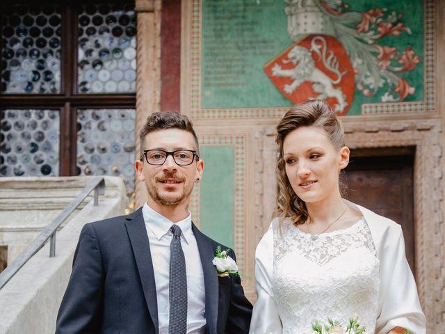 Il matrimonio di Pietro e Giulia a Rovereto, Trento 41