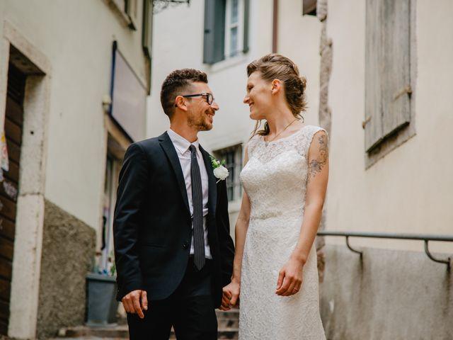 Il matrimonio di Pietro e Giulia a Rovereto, Trento 45