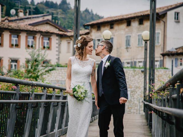 Il matrimonio di Pietro e Giulia a Rovereto, Trento 47