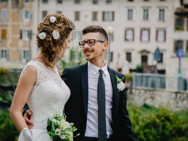 Il matrimonio di Pietro e Giulia a Rovereto, Trento 50