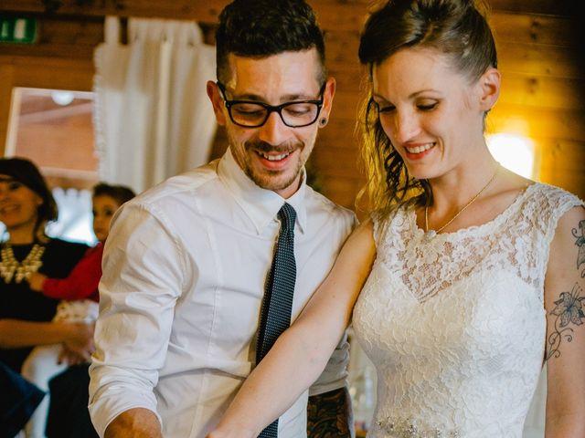 Il matrimonio di Pietro e Giulia a Rovereto, Trento 71