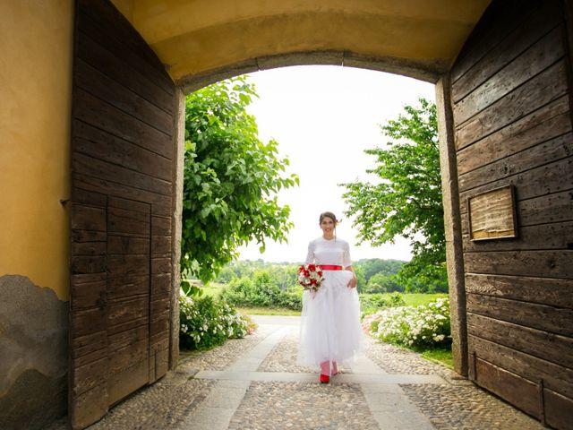 Il matrimonio di Felice e Antonella a Casatenovo, Lecco 5
