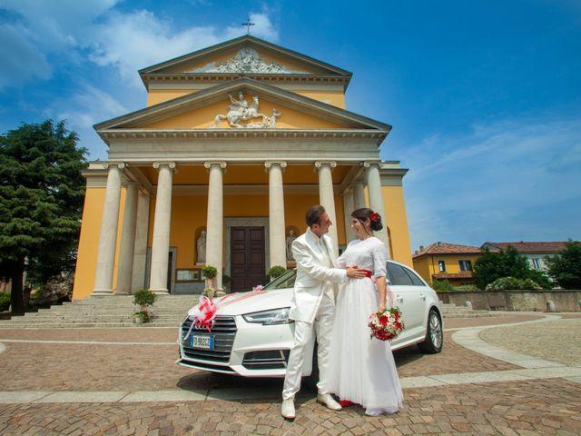 Il matrimonio di Felice e Antonella a Casatenovo, Lecco 15