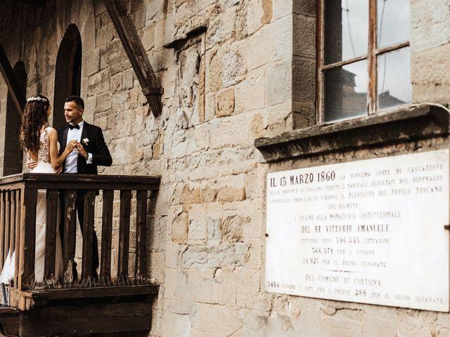 Il matrimonio di Stefano e Federica a Cortona, Arezzo 25