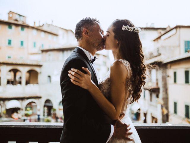Il matrimonio di Stefano e Federica a Cortona, Arezzo 27