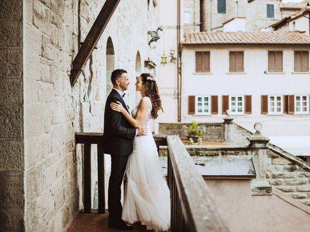 Il matrimonio di Stefano e Federica a Cortona, Arezzo 28