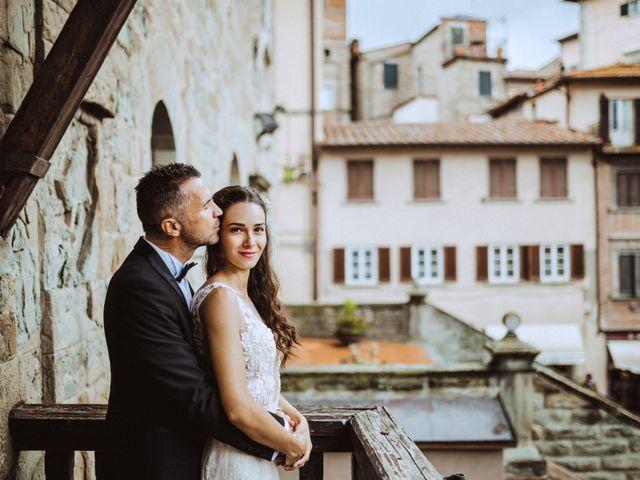 Il matrimonio di Stefano e Federica a Cortona, Arezzo 29