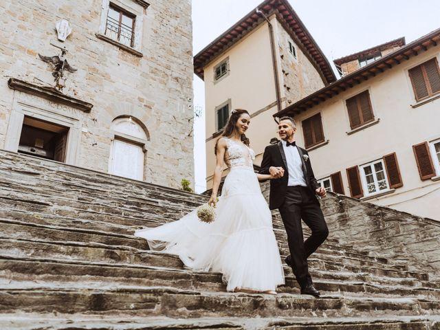 Il matrimonio di Stefano e Federica a Cortona, Arezzo 30