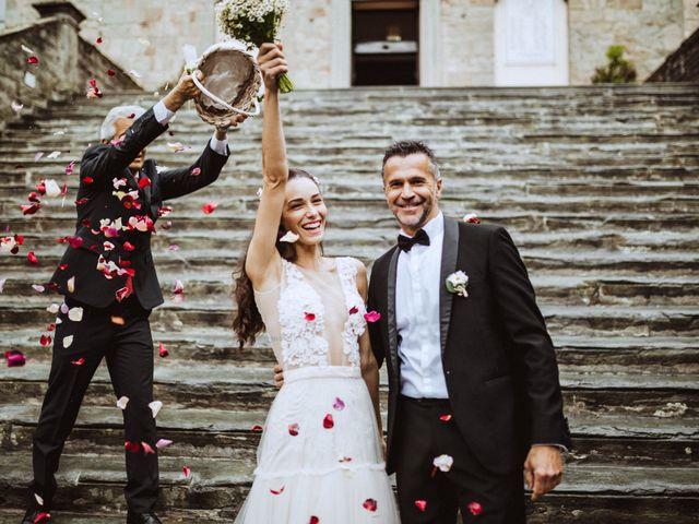 Il matrimonio di Stefano e Federica a Cortona, Arezzo 31