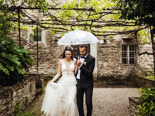 Il matrimonio di Stefano e Federica a Cortona, Arezzo 39