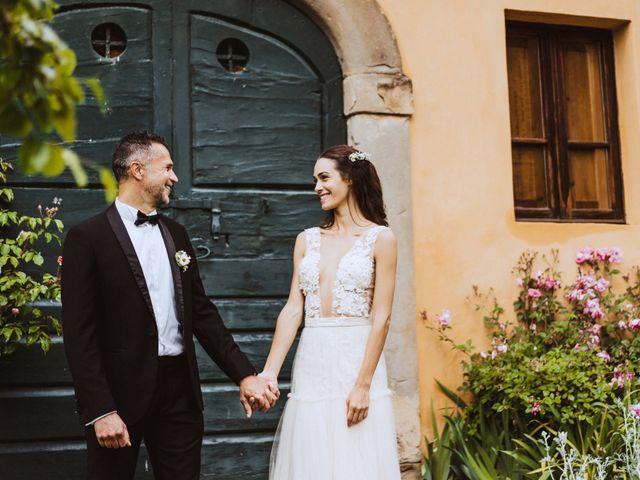 Il matrimonio di Stefano e Federica a Cortona, Arezzo 46