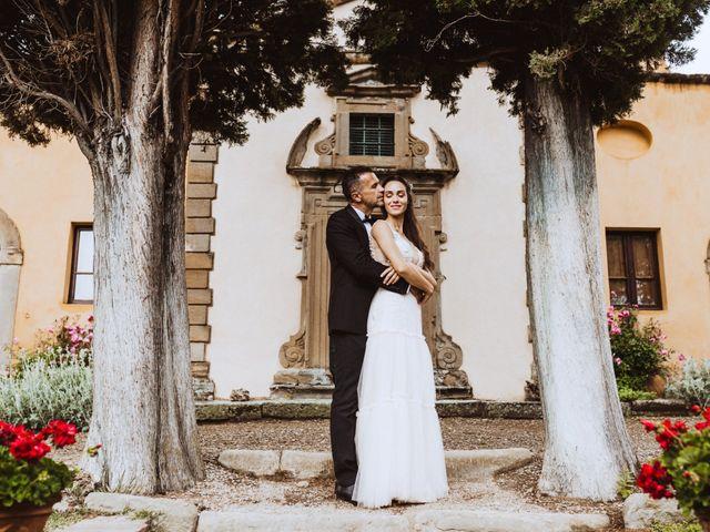 Il matrimonio di Stefano e Federica a Cortona, Arezzo 47
