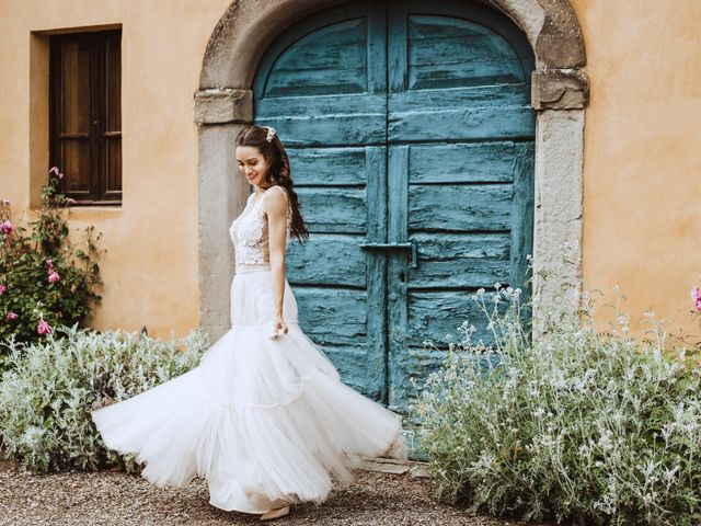Il matrimonio di Stefano e Federica a Cortona, Arezzo 48