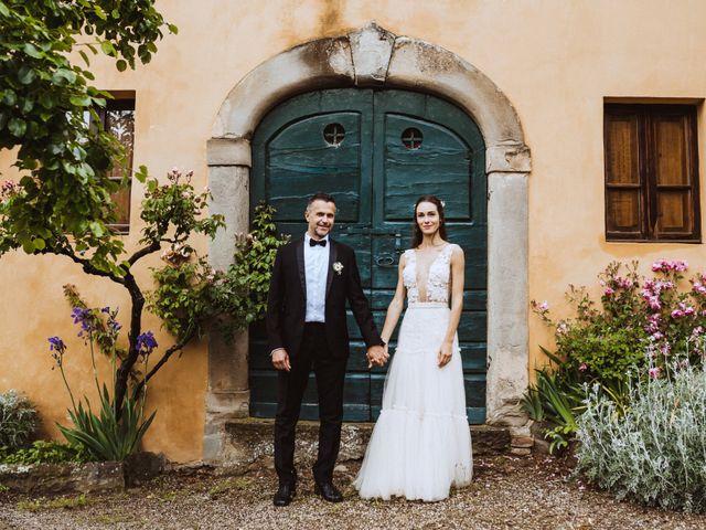 Il matrimonio di Stefano e Federica a Cortona, Arezzo 49
