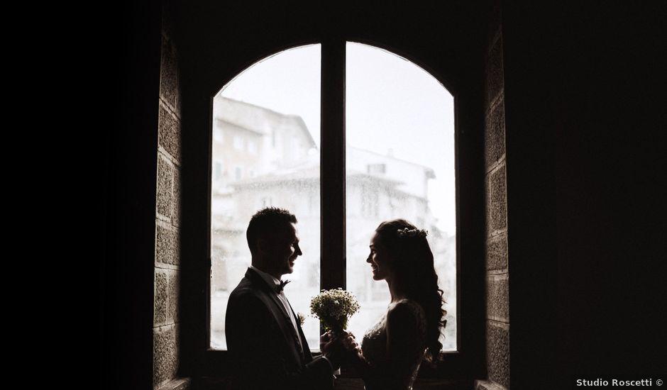 Il matrimonio di Stefano e Federica a Cortona, Arezzo