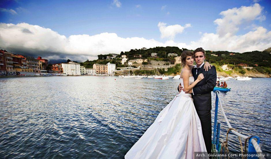 Matrimonio Spiaggia Sestri Levante : Il matrimonio di stefano e michela a sestri levante