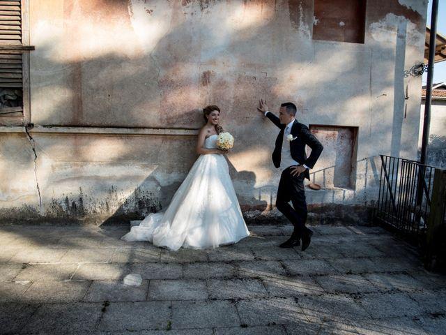 le nozze di Ilenia e Gabriele