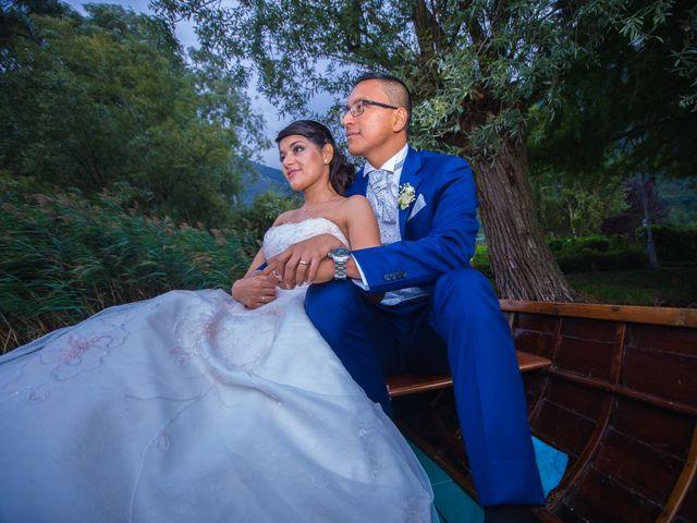le nozze di Stefania e Danny