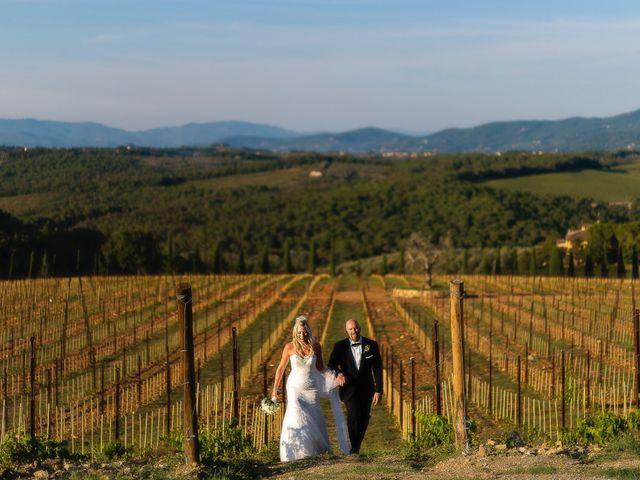 Il matrimonio di Jackson e Amanda a San Casciano in Val di Pesa, Firenze 1