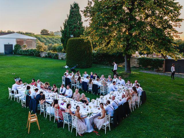 Il matrimonio di Jackson e Amanda a San Casciano in Val di Pesa, Firenze 37
