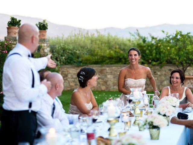Il matrimonio di Jackson e Amanda a San Casciano in Val di Pesa, Firenze 41