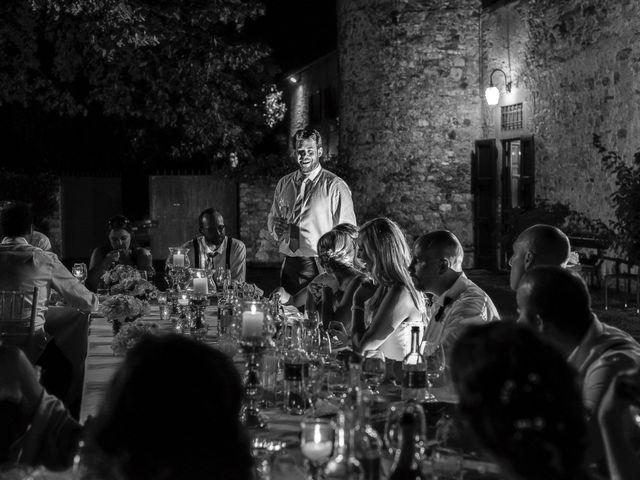 Il matrimonio di Jackson e Amanda a San Casciano in Val di Pesa, Firenze 73