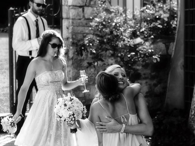 Il matrimonio di Jackson e Amanda a San Casciano in Val di Pesa, Firenze 74