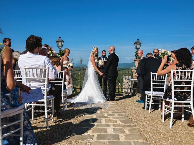 Il matrimonio di Jackson e Amanda a San Casciano in Val di Pesa, Firenze 112