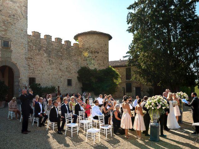Il matrimonio di Jackson e Amanda a San Casciano in Val di Pesa, Firenze 117
