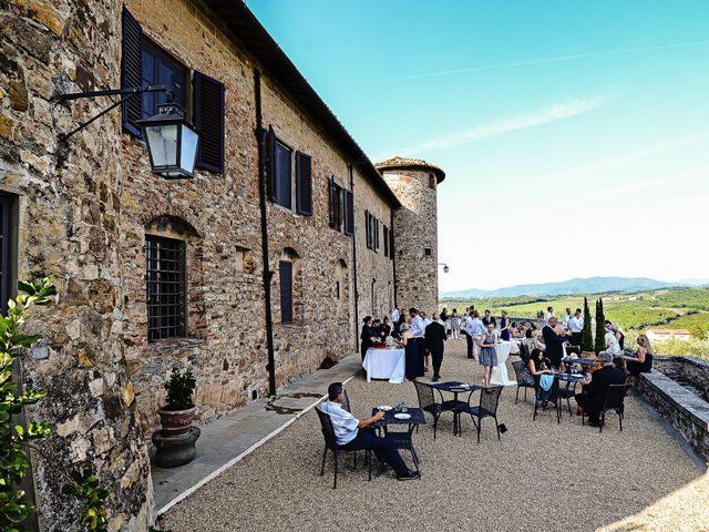 Il matrimonio di Jackson e Amanda a San Casciano in Val di Pesa, Firenze 118