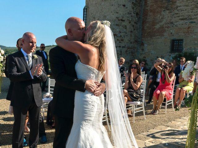 Il matrimonio di Jackson e Amanda a San Casciano in Val di Pesa, Firenze 134
