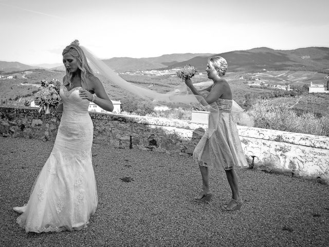 Il matrimonio di Jackson e Amanda a San Casciano in Val di Pesa, Firenze 145