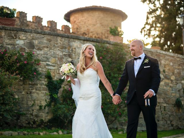 Il matrimonio di Jackson e Amanda a San Casciano in Val di Pesa, Firenze 148