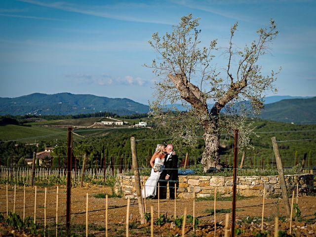 Il matrimonio di Jackson e Amanda a San Casciano in Val di Pesa, Firenze 153