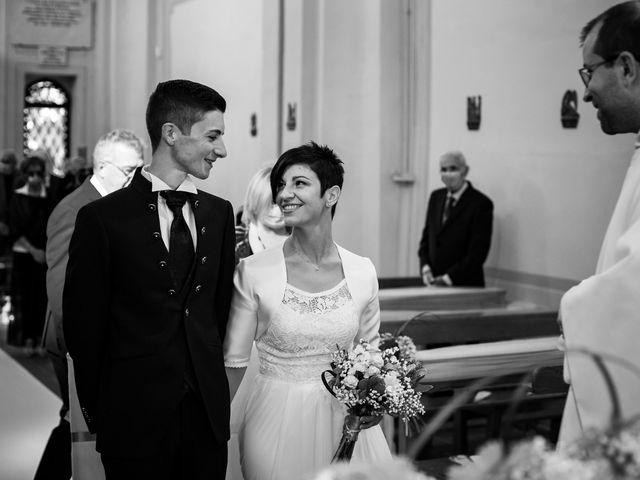 Il matrimonio di Andrea e Michela a Miradolo Terme, Pavia 25