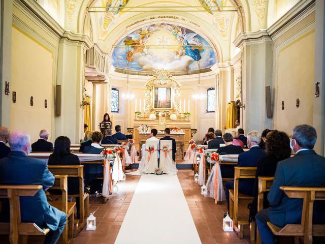 Il matrimonio di Andrea e Michela a Miradolo Terme, Pavia 26