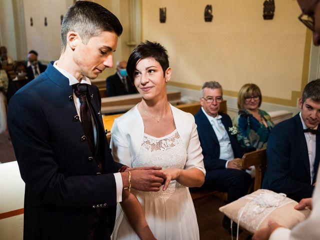 Il matrimonio di Andrea e Michela a Miradolo Terme, Pavia 27
