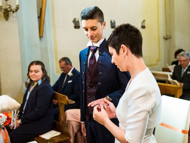 Il matrimonio di Andrea e Michela a Miradolo Terme, Pavia 28