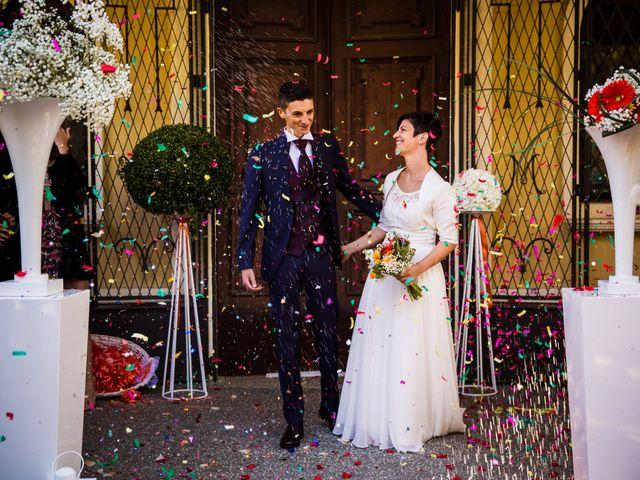 Il matrimonio di Andrea e Michela a Miradolo Terme, Pavia 31