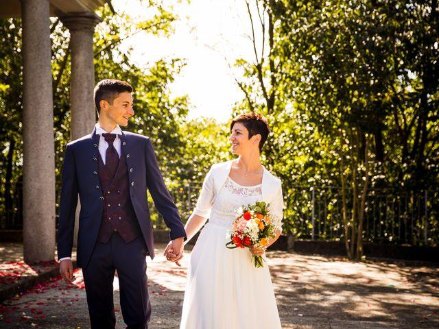 Il matrimonio di Andrea e Michela a Miradolo Terme, Pavia 34