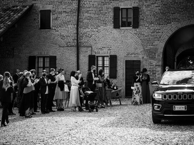 Il matrimonio di Andrea e Michela a Miradolo Terme, Pavia 36